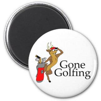 Reno Golfing Imán Redondo 5 Cm