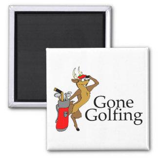 Reno Golfing Imán Cuadrado
