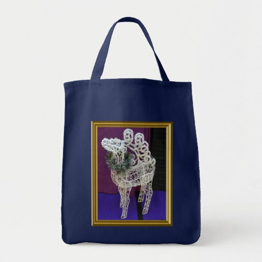 Reno hecho a mano bolsas lienzo