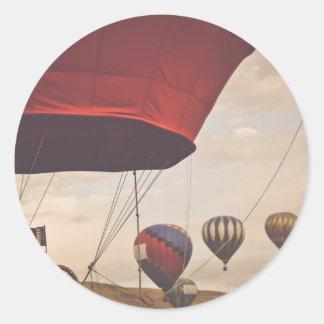 Reno Hot Air Balloon Race Classic Round Sticker