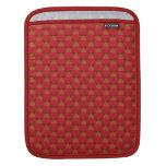 Reno lindo en rojo funda para iPads