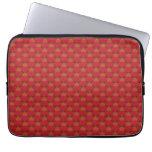 Reno lindo en rojo funda portátil