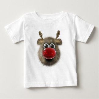 Reno mullido divertido lindo camisetas