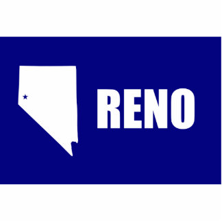 Reno, nanovoltio, Estados Unidos señala por medio  Esculturas Fotograficas