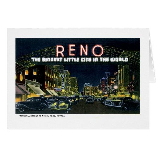 Reno, nanovoltio la pequeña ciudad más grande del  tarjeton