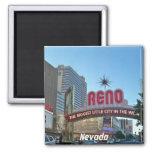 Reno, Nevada 2 Inch Square Magnet