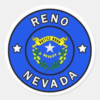 Reno Nevada Classic Round Sticker