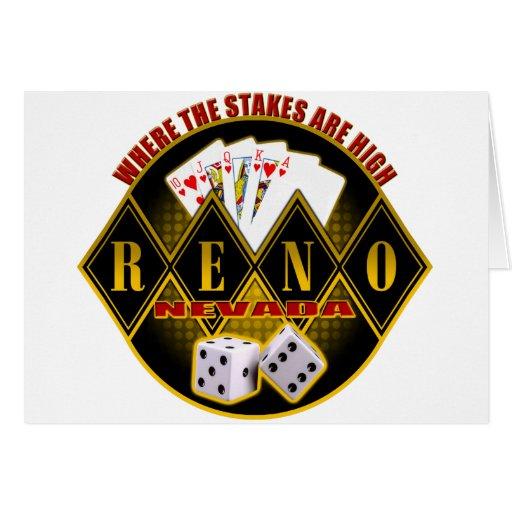 Reno, Nevada - donde están altas las participacion Tarjetón