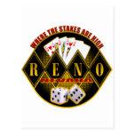 Reno, Nevada - donde están altas las Postal