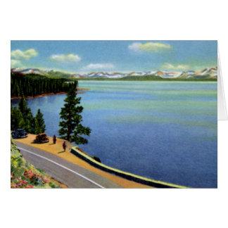 Reno Nevada el lago Tahoe Tarjeta De Felicitación