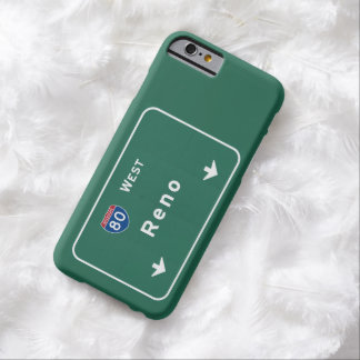 Reno Nevada nv Interstate Highway Freeway : Barely There iPhone 6 Case