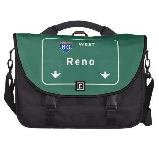 Reno Nevada nv Interstate Highway Freeway : Commuter Bag