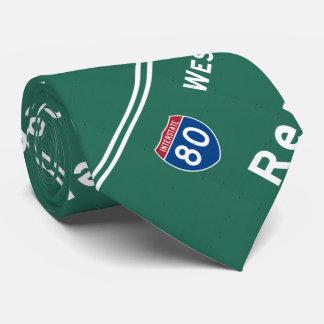 Reno Nevada nv Interstate Highway Freeway : Tie