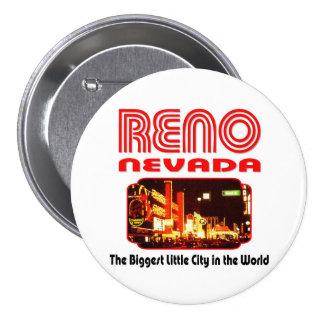 Reno Nevada Pinback Button
