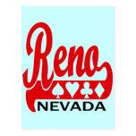 Reno, Nevada Postcard