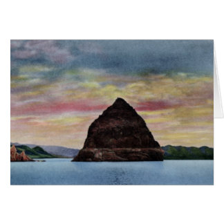 Reno Nevada Pyramid Lake Card