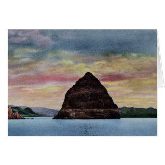 Reno Nevada Pyramid Lake Card