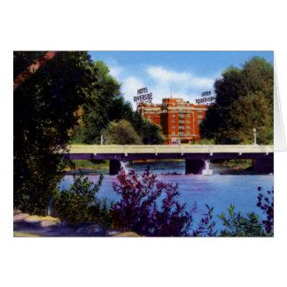 Reno Nevada Riverside Hotel Truckee River Card