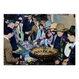 Reno Nevada Roulette Card