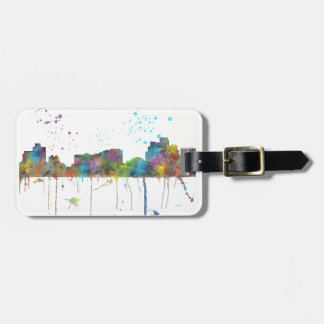 RENO, NEVADA SKYLINE BAG TAG