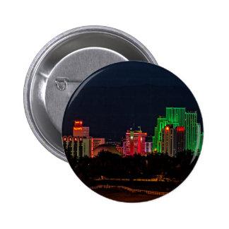 Reno Nevada Skyline Button
