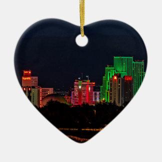 Reno Nevada Skyline Ceramic Ornament