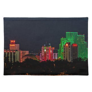 Reno Nevada Skyline Cloth Place Mat