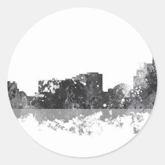 RENO, NEVADA SKYLINE - Round stickers