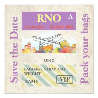 RENO, NEVADA SKYLINE WB1 - CARD