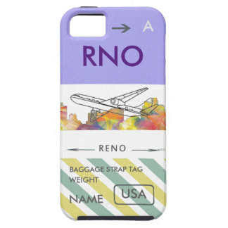 RENO, NEVADA SKYLINE WB1 - iPhone SE/5/5s CASE