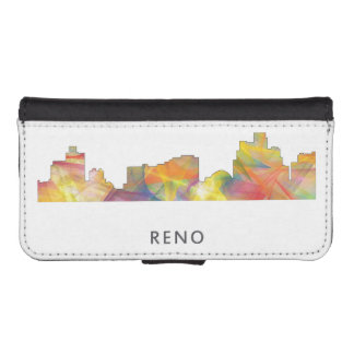 RENO, NEVADA SKYLINE WB1 - WALLET PHONE CASE FOR iPhone SE/5/5s