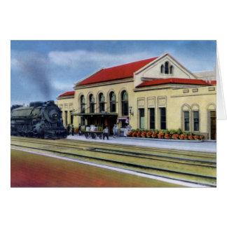 Reno Nevada Southern Pacific Station Card