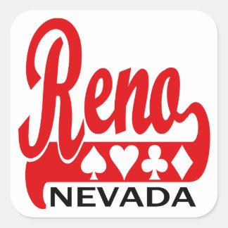 Reno, Nevada Square Sticker