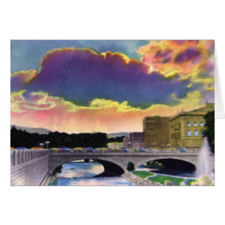 Reno Nevada Sunset Card