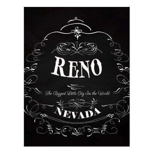 Reno, Nevada - The Biggest Little City Postcard
