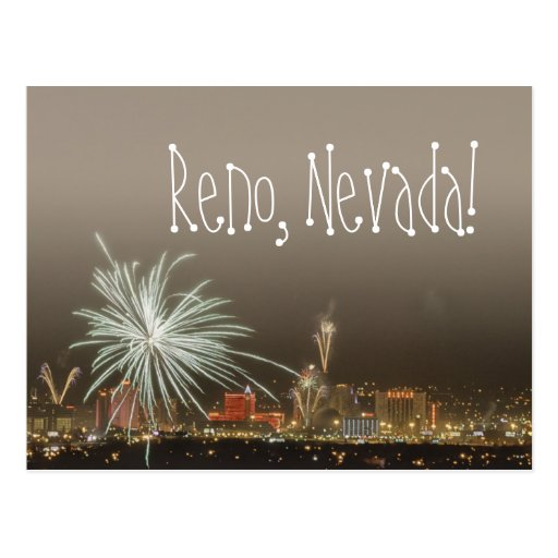 Denver New Years Fireworks6 By Niel4: Reno New Year's Fireworks Postcard