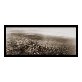 Reno NV Aerial View Photo 1908 Poster