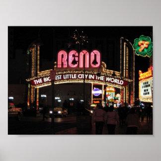 Reno, Nv Poster