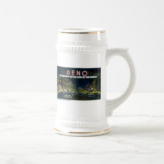 Reno, NV The Biggest Little City in the World Beer Stein