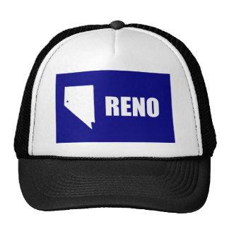 Reno, Nv, United States flag Trucker Hat