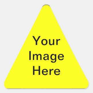 """Reno Photo Crafts"" Triangle Sticker"