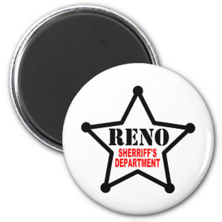 RENO Sherriff's Department Magnet