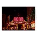 Reno Sign Greeting Card