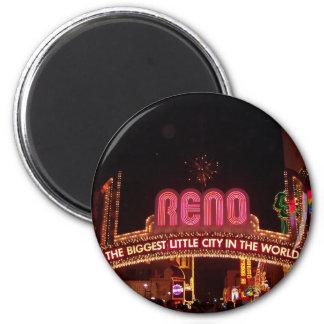 Reno Sign Refrigerator Magnet