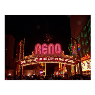 Reno Sign Postcard