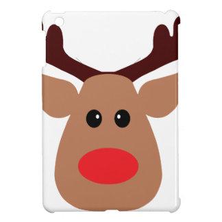 Reno sospechado rojo del navidad iPad mini carcasas