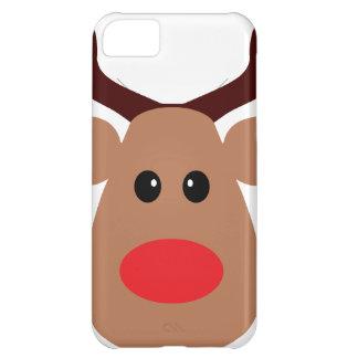 Reno sospechado rojo del navidad funda para iPhone 5C