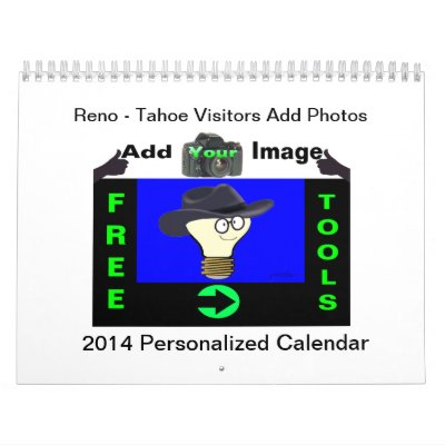 """Reno - Tahoe Visitors"" Add Image Calendar"