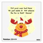 ¡Reno tonto lindo del navidad! (Personalizar él!)