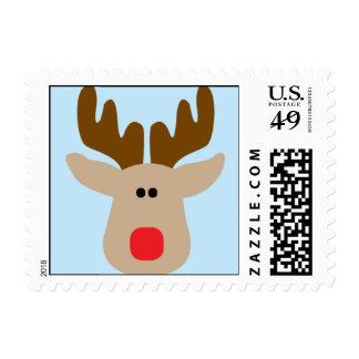 Reno tonto sellos postales